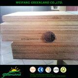Contraplacado de chão de recipiente com núcleo de madeira dura, cola fenólica