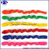 Beste Qualität Spiral-Latex-Ballon für Kinder Spielzeug