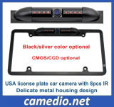 EUA EUA Night Vision Car License Plate Frame Rearview Camera Cm-315b