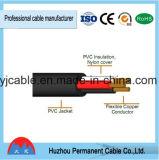 Fil de cuivre du fil électrique isolant en PVC Câble cordon de fil de masse---Tsj
