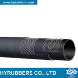 Boyau en caoutchouc hydraulique d'aspiration de 4 pouces inséré par fil