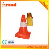 Kunststoff-Barrikade-Verkehrs-Warnleuchte