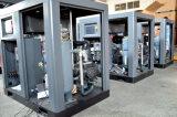 Palleting 기계를 위한 물에 의하여 냉각되는 75kw 회전하는 나사 압축기 공기