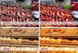 UL COB luces fresco 30W LED Lámpara de 36 grados de la luz de la tienda fresca para el mercado vender carne uso vegetal
