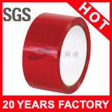 Bande adhésive rouge d'emballage de la couleur BOPP (YST-CT-010)