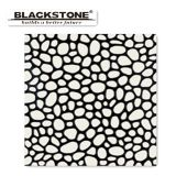 300X300玉石様式3Dの白黒の磨かれた磁器のタイル(BROP2114)
