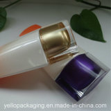 GLAS-Kosmetik-Flasche des Großhandelskosmetischen Glas-50ml Plastik