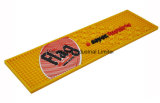 Custom Bar Mat Antislip Black Rubber Bar Runner Pad Tapete retangular de PVC para retentor de mesa