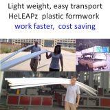 Bürgersteig-Plastikverschalung-Arbeit schneller, Kosten weniger, Garten-Verschalung