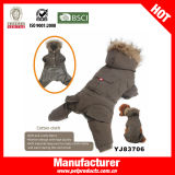 Velveteen North-Face Dog Jacket Dog Coat (YJ83693)