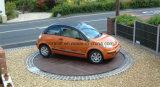 Carro motorizado eléctrico placa giratória com marcação CE