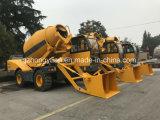 De zelf Concrete die Mixer van Italië van de Lading in China wordt gemaakt