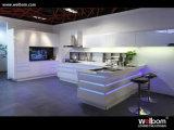 Lack-weißer moderner Küche-Schrank-Entwurf der Qualitäts-2017