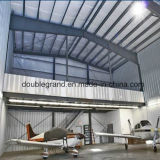 軽い鉄骨構造の航空機の格納庫