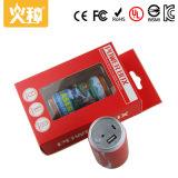 Batería móvil de la potencia del USB del Ce con la linterna brillante