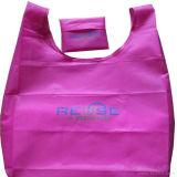 190t Mercado Poliéster Bag Saco de dobragem