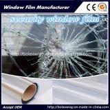 De fabriek verkoopt 2mil de Transparante Film van het Venster, Beschermende Veiligheid Film, Explosiebestendige Film
