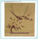 Zakken van het Document van de Ambacht van het Handvat van de Douane van vervaardiging de Goedkope Vlakke met Uw Eigen Embleem