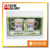 Чашки пар фарфора Qlb011