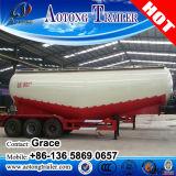 3 판매 (선택 수용량)를 위한 반 차축 40000L 저밀도 탄소 대량 분말 시멘트 탱크 트레일러