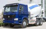 具体的なミキサーのトラックを運転するSinotruk HOWOのブランド6X4