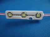 Módulo impermeável do diodo emissor de luz da injeção da luminância 5054 novos elevados com lente