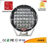 Voiture de lumière LED de 9 pouces de phare de travail LED 5W*32 CREE LED puce pour voiture de SUV voyant éteint et voyant des feux de route des feux de conduite