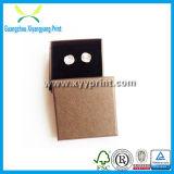 Коробка изготовленный на заказ бумажных ювелирных изделий установленная с вставкой бархата