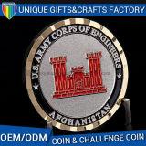 Moneta antica personalizzata di sfida della moneta del metallo di sport