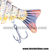 Attrait en plastique dur joint multi en gros de pêche de 12.5g 100mm