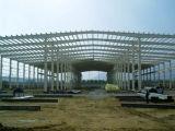 Taller pintado de la estructura de acero del bajo costo para la exportación