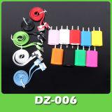 Красочные ЕС настенное зарядное устройство USB кабель для iPhone3/4/4s (DZ-006)