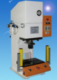 15T 油圧式空圧スタンプローリングメタルポカシング手動操作プレス マシン