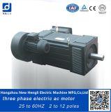 Três motor de C.A. elétrico do ventilador 380V 50Hz 6poles de Phaae