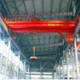 Grúa de puente electromágnetica rotatoria de la carretilla de la viga doble con precio bajo