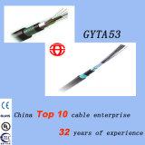 Câble blindé à fibre optique à fibre optique à 48 fils