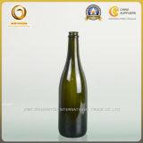 La bouteille en verre de pétillement vide de 750ml Champagne vend en gros (528)