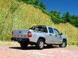A cabine dobro 4X2 de /Gasoline da melhor gasolina chinesa de Rhd/LHD pegara (caixa da carga padrão, de luxe)