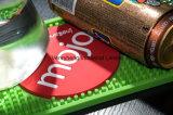 O logotipo personalizado Eco-Friendly bar de cerveja de borracha de PVC da calha do tapete de derramamento