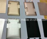 Pezzo meccanico CNC di precisione per le coperture di alluminio