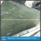 Mattonelle di marmo verdi del pavimento e della parete della stanza da bagno della cucina della Cina Dandon