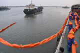 Crescimento contínuo fabricado de grande resistência da retenção do petróleo do PVC da espuma