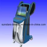 Rimozione lunga dei capelli del laser di impulso + apparecchiatura di bellezza di IPL +RF