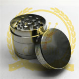 Alliage de zinc métal Corona Herb meuleuse, 50mm 3 ou 4 pièces de métal Sharpstone meuleuses de tabac à fumer