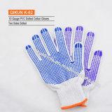 Ранг K-59 перчатки связанные абажуром хлопка