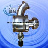 aseptique réservoir à membrane radiale vanne de fond (PTFE)