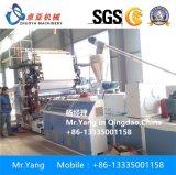 Folha de mármore fina do PVC que faz a máquina a maquinaria de mármore artificial