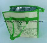Sacchetto di acquisto non tessuto con alluminio all'interno