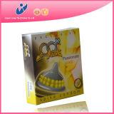 Preservativos de borracha do ponto com serviço do OEM