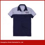 Camisas de trabalho da luva curta feito-à-medida para o verão (W268)